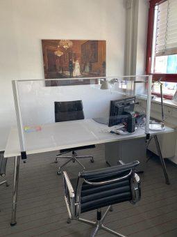 FRANKcare Tisch-Hygienewand THW